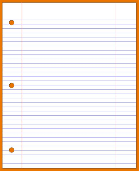 ruled paper template word doc 620790 lined paper template bizdoska