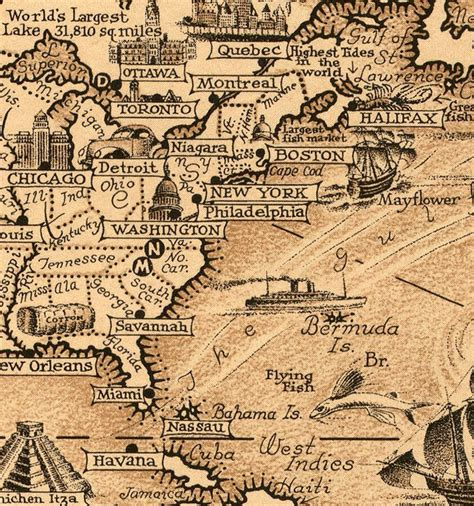 world map world wonders vintage poster maps and