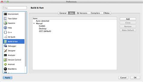 qt on mac os x tutorial macos use qtcreator with gnu g 4 8 in mac os x stack