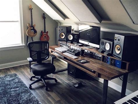 desk for studio monitors placing studio monitors on desk desk design ideas