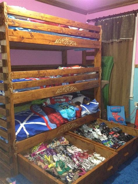 beds unlimited free bunk bed plans with drawers woodworking projects