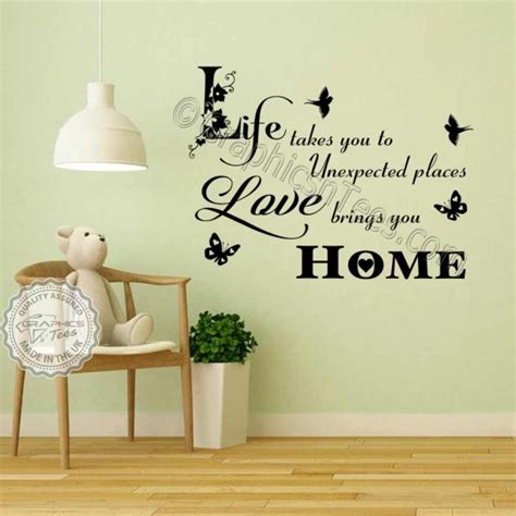 Inspirational Quotes Home Decor Home Wall And Inspirational Quotes Brings You Home Inspirational Family Wall Sticker