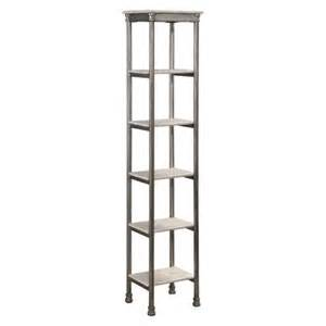 Narrow Storage Shelves Home Styles Orleans Six Tier Narrow Shelving Uni Target