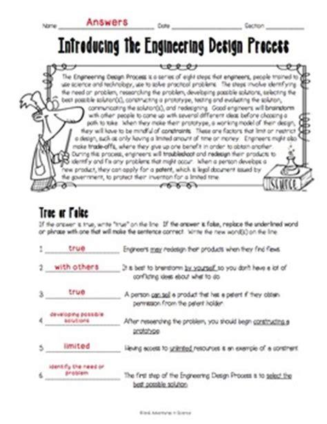 Engineering Design Process Worksheet by Engineering Design Process Worksheet Ommunist