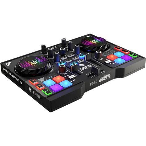 console dj hercules djcontrol instinct p8 table de mixage hercules