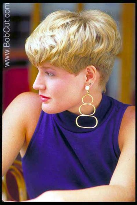 very short wedge hairstyles hairstyle picture blonde very short pixie hair style