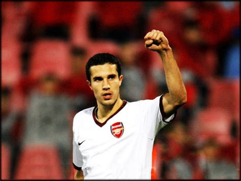 arsenal ronaldo 7 arteta quot robin van persie is up there with messi and