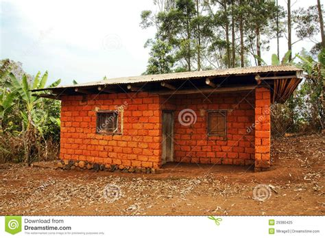 africa house african house made of red earth bricks royalty free stock photo image 29380425