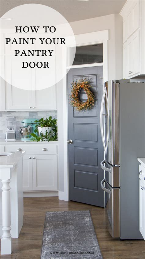 New Trends In Kitchen Design Pantry Door Makeover Honeybear Lane