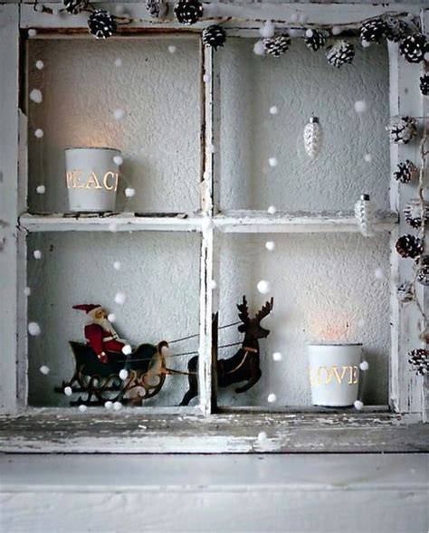 Fensterdeko Weihnachten Shabby Chic by Shabby Chic Fensterdeko Weihnachten Winter