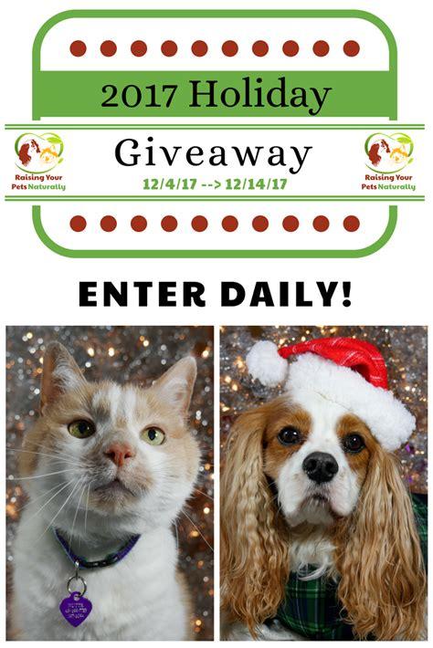 Pet Giveaway - natural pet holiday blog giveaway pet contest 2017