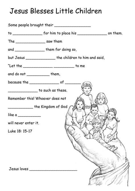 worksheet jesus worksheets for bible activities for