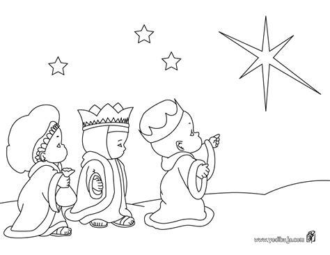 imagenes de navidad para colorear reyes magos reyes magos