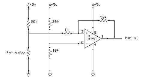 ntc thermistor circuit design op ntc thermistor resistance calculation for circuit using wheatstone bridge op