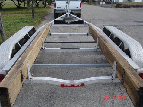 aluminum bunks for boat trailers 2008 quickload 10 000 lb triple axle aluminum bunk trailer