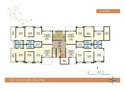 map floor plan shree ganesh sentosa elysium in wakad pune price location map floor plan reviews