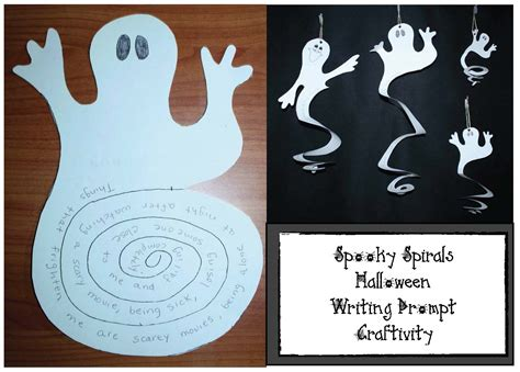 spooky crafts classroom freebies spooky spirals