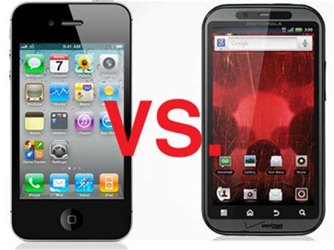 iphone and android iphone vs android