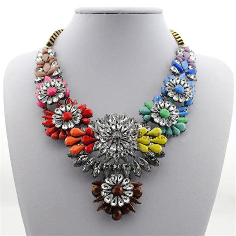 wholesale 2014 gift chain chunky shourouk necklace