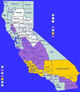 map of west coast california map travel