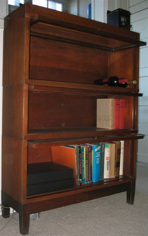 antique globe wernicke lawyer s bookcase dave s archive