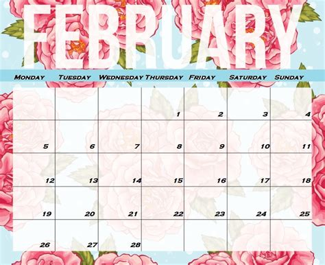 Calendar 2018 February And March February 2018 Hd Calendar Calendar 2018