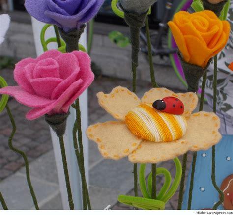 fiori di panno lenci pannolenci littlehats co