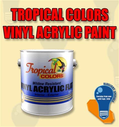 acrylic paint vinyl tropical colors vinyl acrylic paint blue light specials