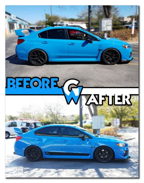 custom blue subaru 30 best before after partial wraps images on pinterest