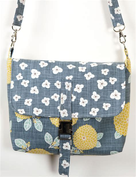 pattern pouch bag autumn woods shoulder bag pdf sewing pattern pn3102