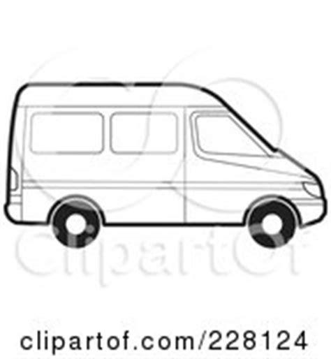 moving van coloring page royalty free van illustrations by lal perera page 1
