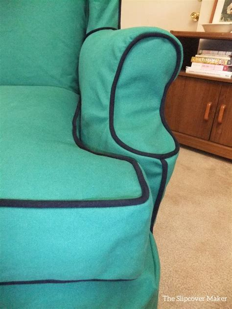 canvas slipcovers for chairs 9 best barb s green canvas slipcovers images on pinterest