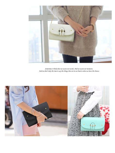 Tas Sling Bag Cewek Mini Kecil Keren Black El290910 tas wanita 10 styles flat price fashion bag harga
