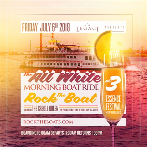 rock the boat 2020 rock the boat pt 3 the 2018 all white morning boat ride