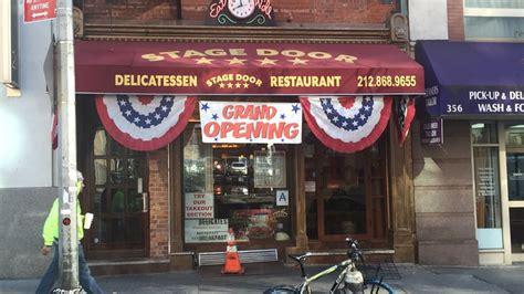 Stage Door Diner midtown s stage door deli sues landlord basement