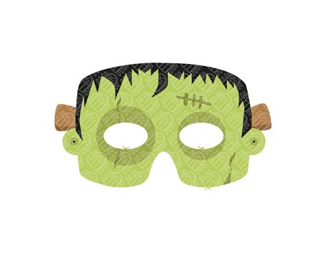 gallery halloween paper mask template