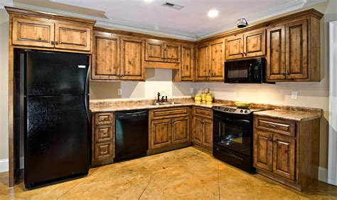 knotty alder kitchen cabinets really like these cabinets hickory kitchen cabinets