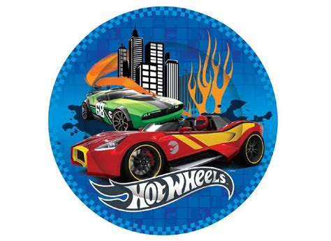 hot car themes hot wheels plates kids themed party supplies character