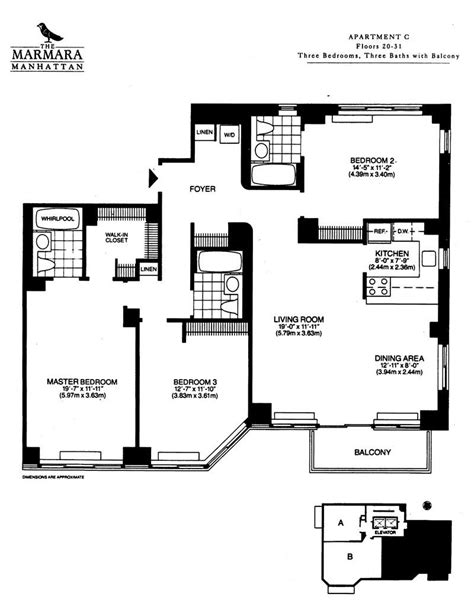 2 bedroom nyc the marmara manhattan apartments 3 nyc 3 bedroom the marmara manhattan