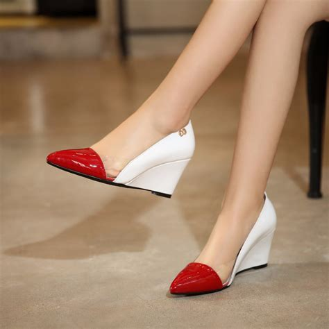 high heels low price low price wholesale new fashion pumps wedges high
