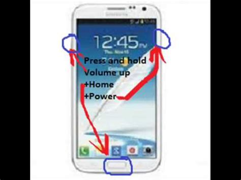 reset samsung note 2 samsung galaxy note ii hard reset youtube