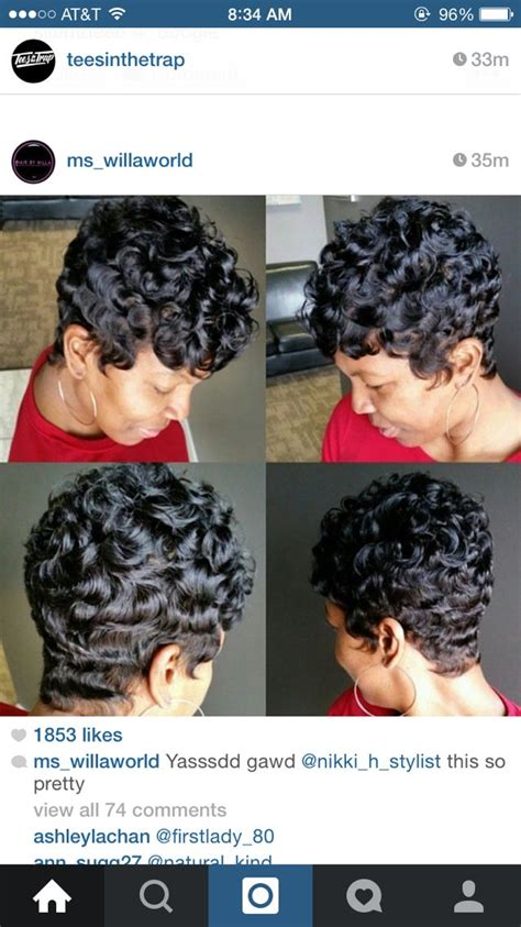 popcorn wave hairstyle pin by nia spencer formerly phillips on hair pinterest
