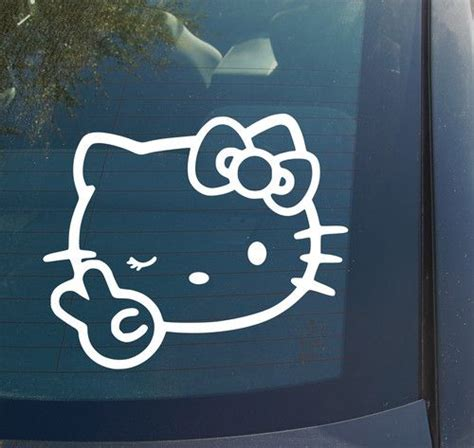 Jdm Hello Kitty Bow 104 best images about vinyl stickers on pinterest cars