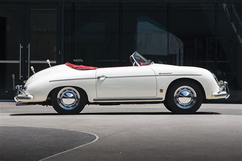 Porsche 356 Super Speedster by Auction Block 1956 Porsche 356 A Super Speedster