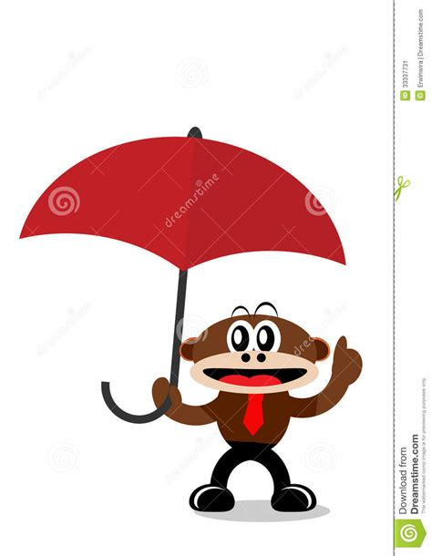 cartoon themes vector cartoon monkey in business themes stock image image