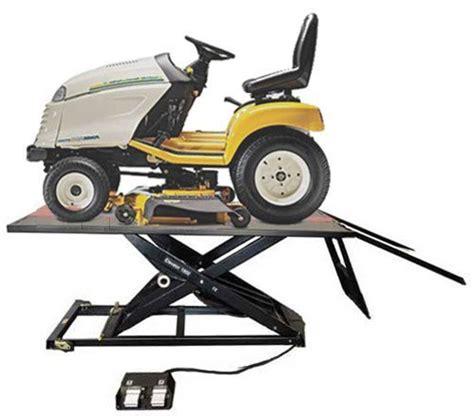 garden tractor lift table elevator 1800m lawnmower lift table nhproequip com