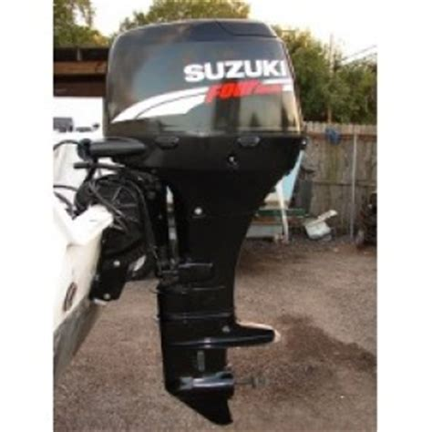 Suzuki 50 Hp Outboard 2006 Suzuki 50hp Four Stroke Used Outboard Motor From Pt