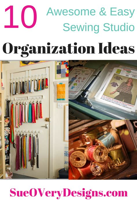 studio organization ideas 10 affordable awesome and easy sewing studio organization