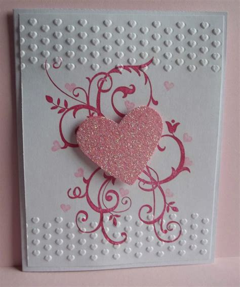 Handmade Wedding Anniversary Cards - stin up handmade greeting card valentines day