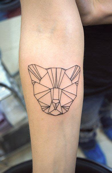 geometric cat tattoo 18 best images about tatuajes on cats